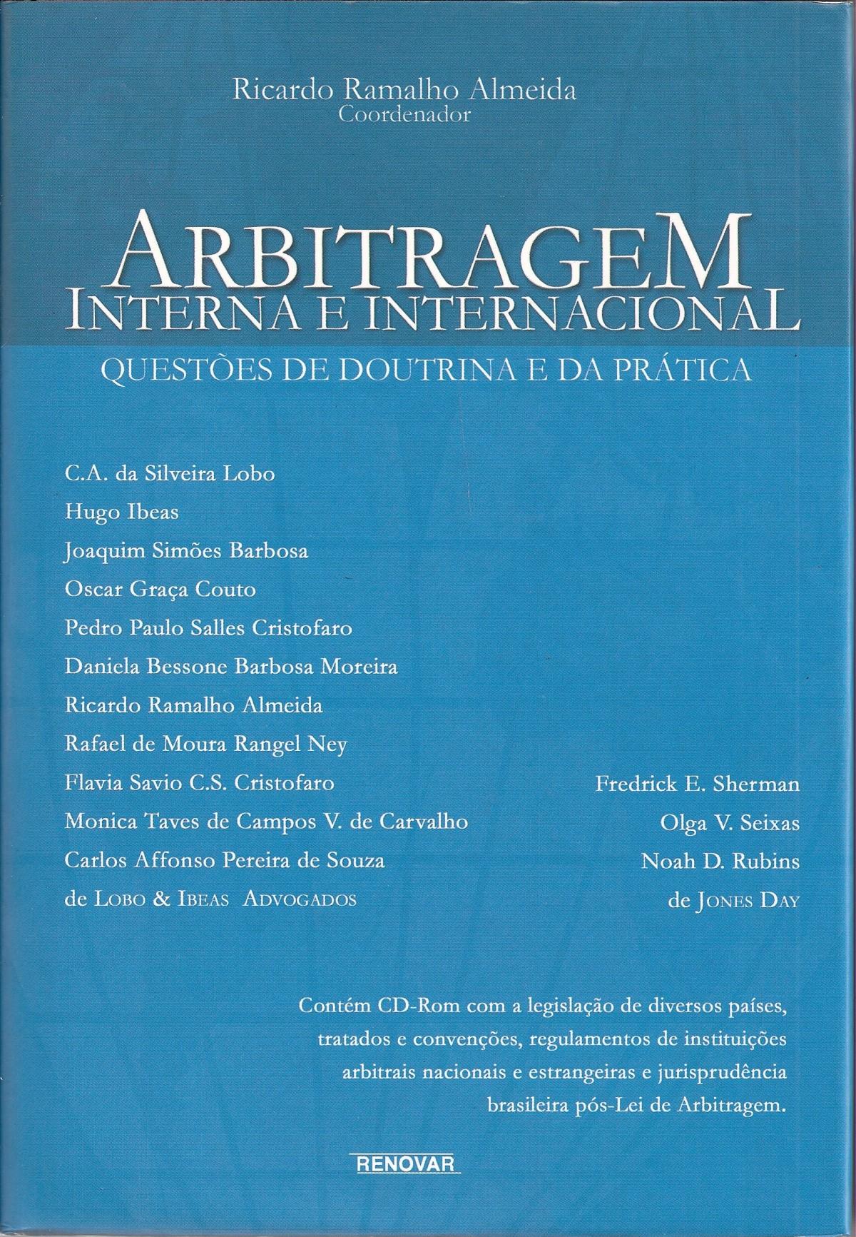 Foto 1 - Arbitragem Interna e Internacional
