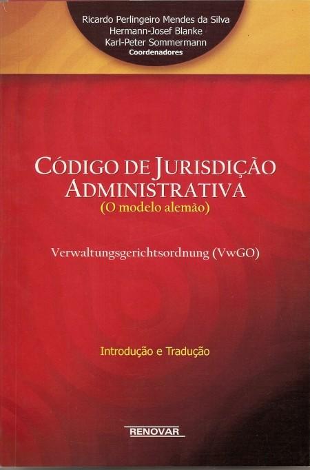 Foto 1 - Código de Jurisdição Administrativa