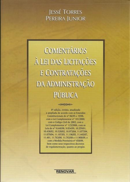 Foto 1 - Comentários à Lei das Licitações e Contratações da Administração Pública