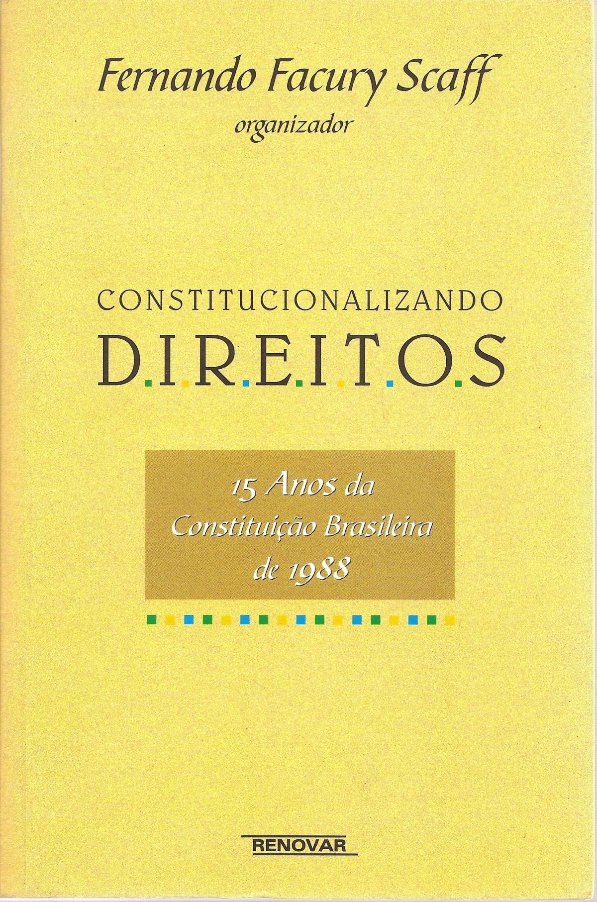 Foto 1 - Constitucionalizando Direitos - 15 Anos da Constituição Brasileira de 1988