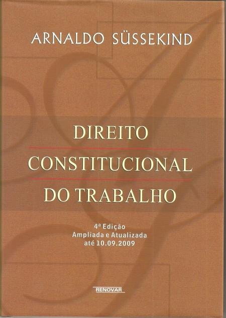 Foto 1 - Direito Constitucional do Trabalho