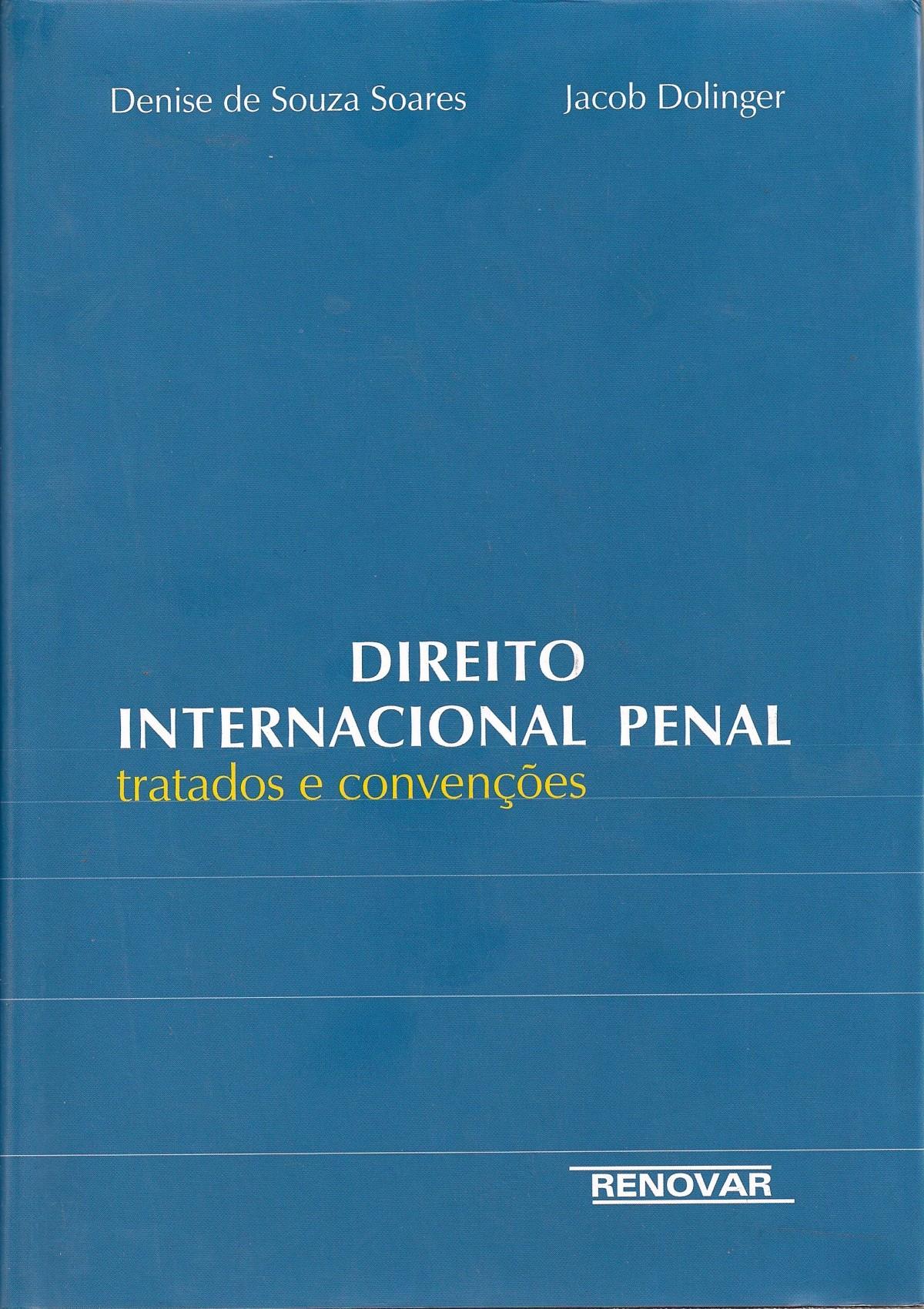 Foto 1 - Direito Internacional Penal - Tratados e Convenções