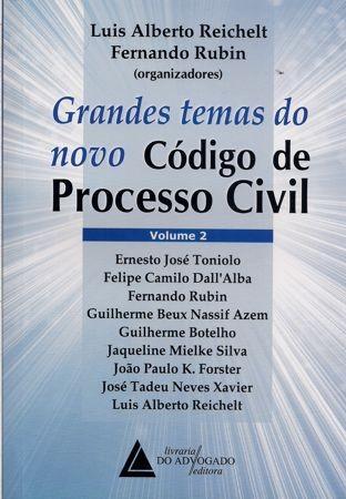 Foto 1 - Grandes Temas do novo Código de Processo Civil - Volume II