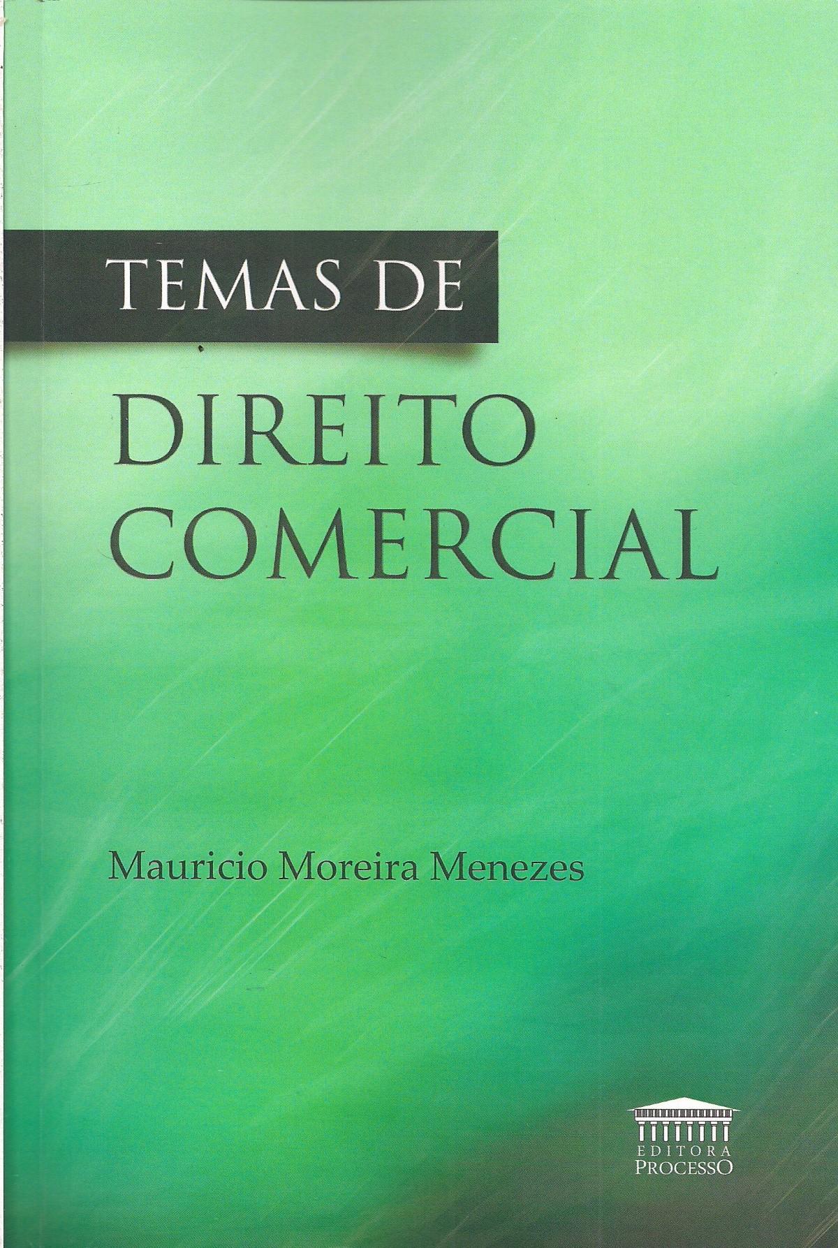 Foto 1 - Temas de Direito Comercial