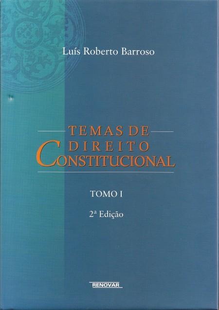 Foto 1 - Temas de Direito Constitucional - Tomo I