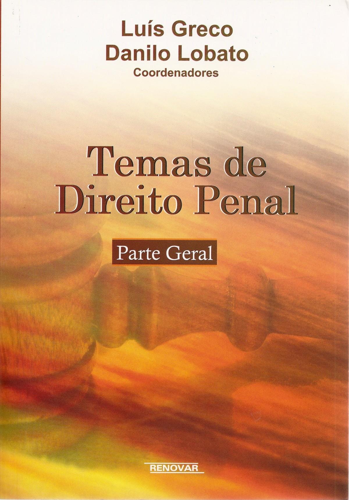 Foto 1 - Temas de Direito Penal - Parte Geral