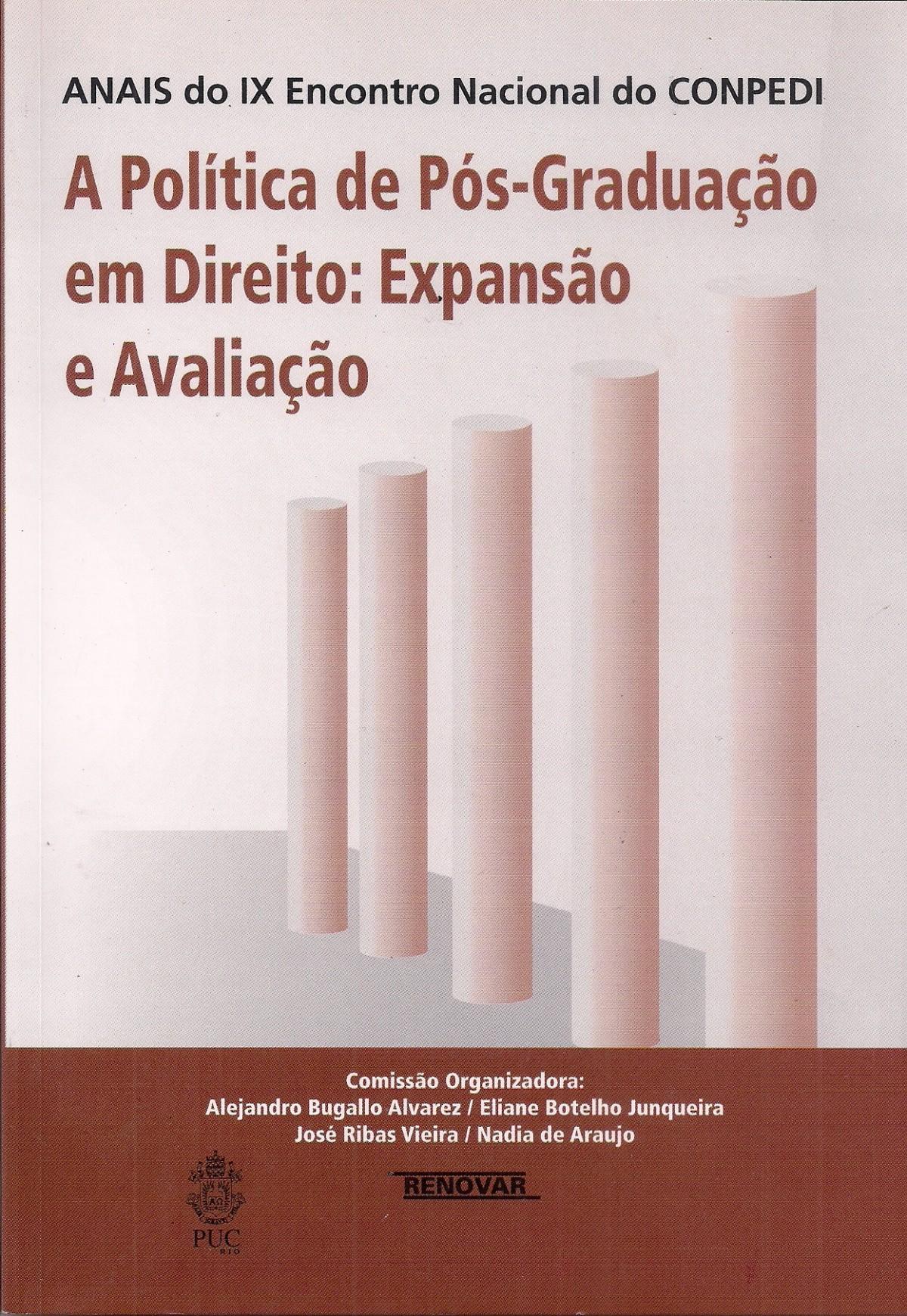 Foto 1 - A Política de Pós-Graduação em Direito: Expansão e Avaliação