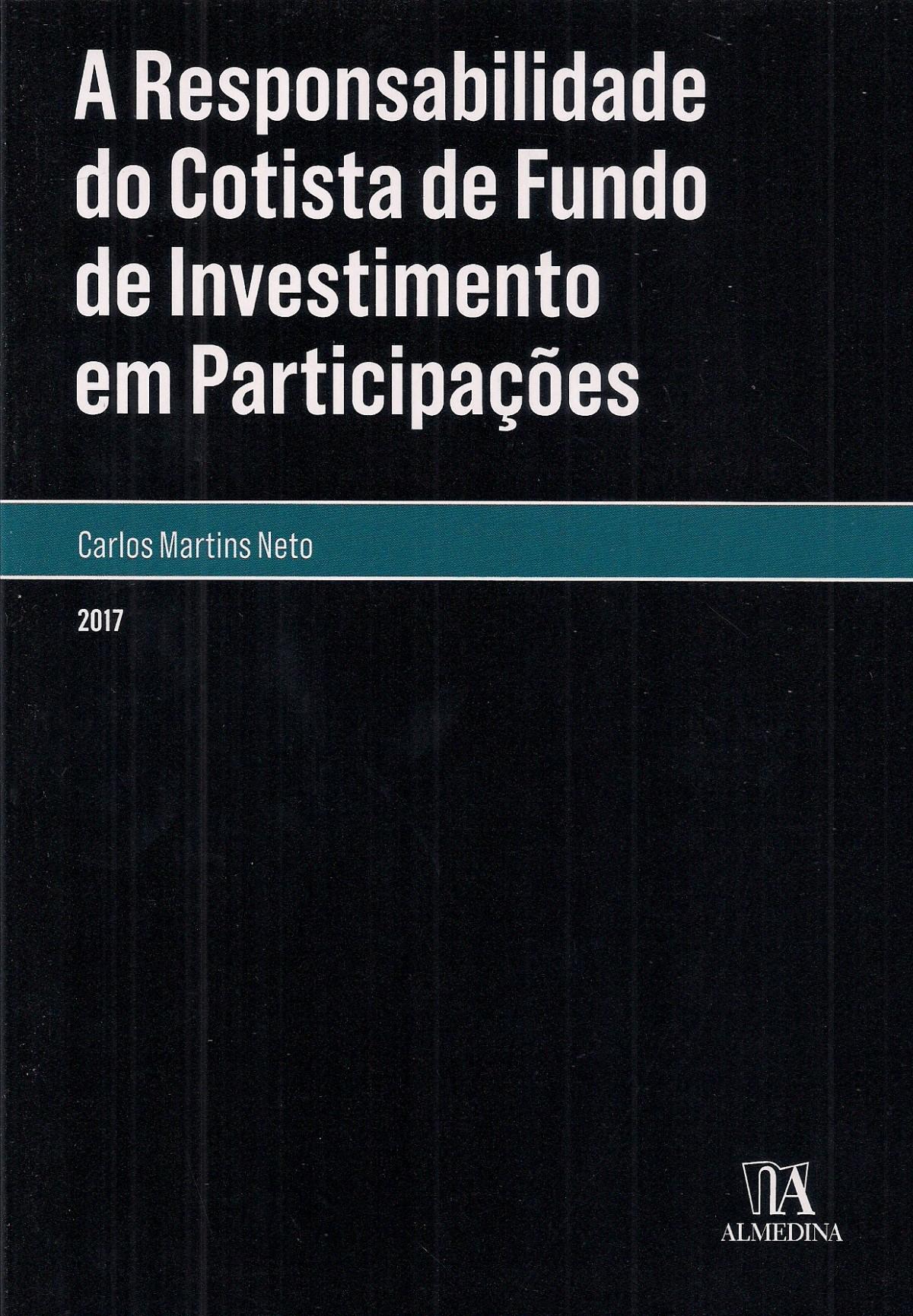 Foto 1 - A Responsabilidade do Cotista de Fundo de Investimento em Participações