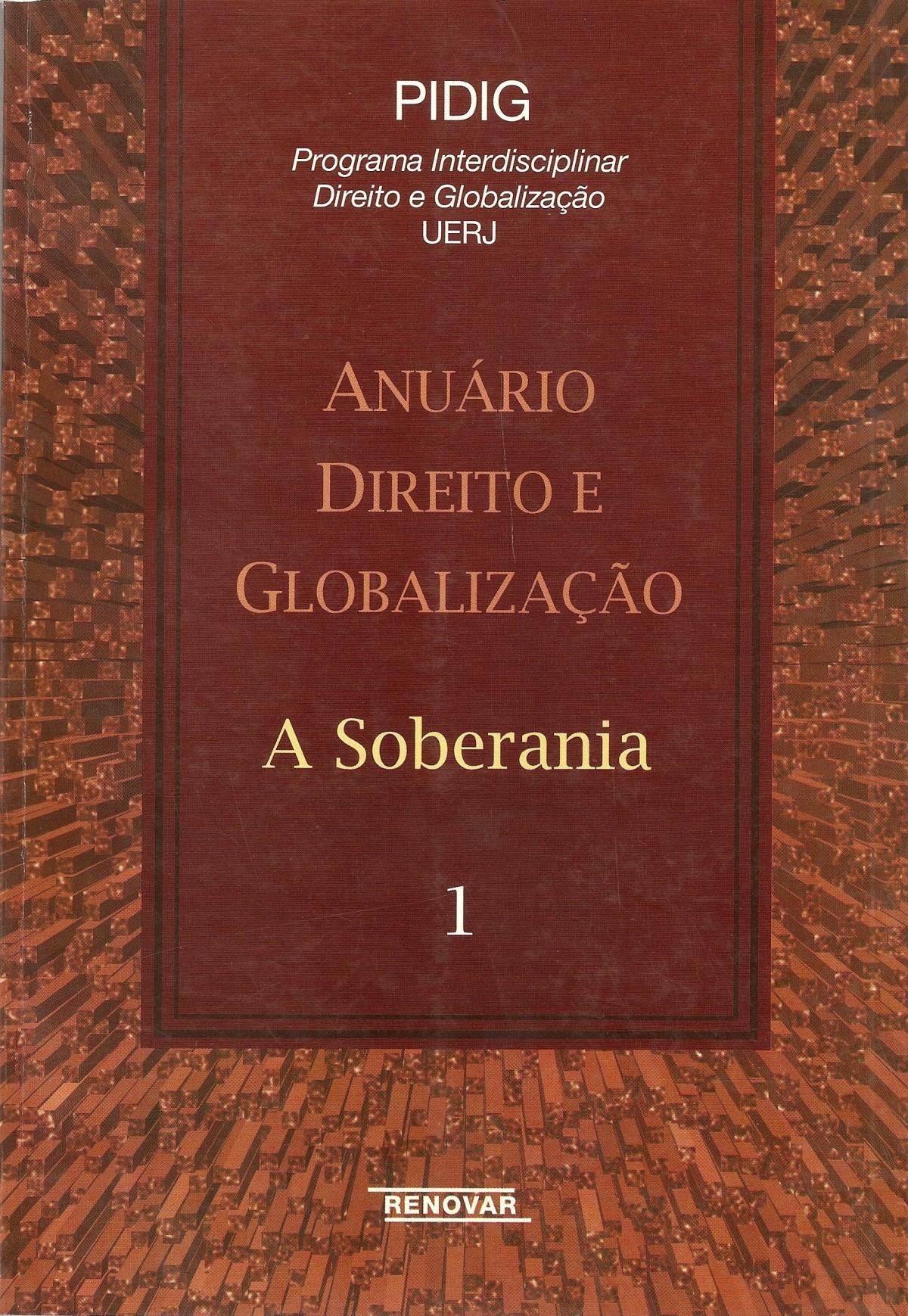 Foto 1 - Anuário Direito e Globalização - A Soberania