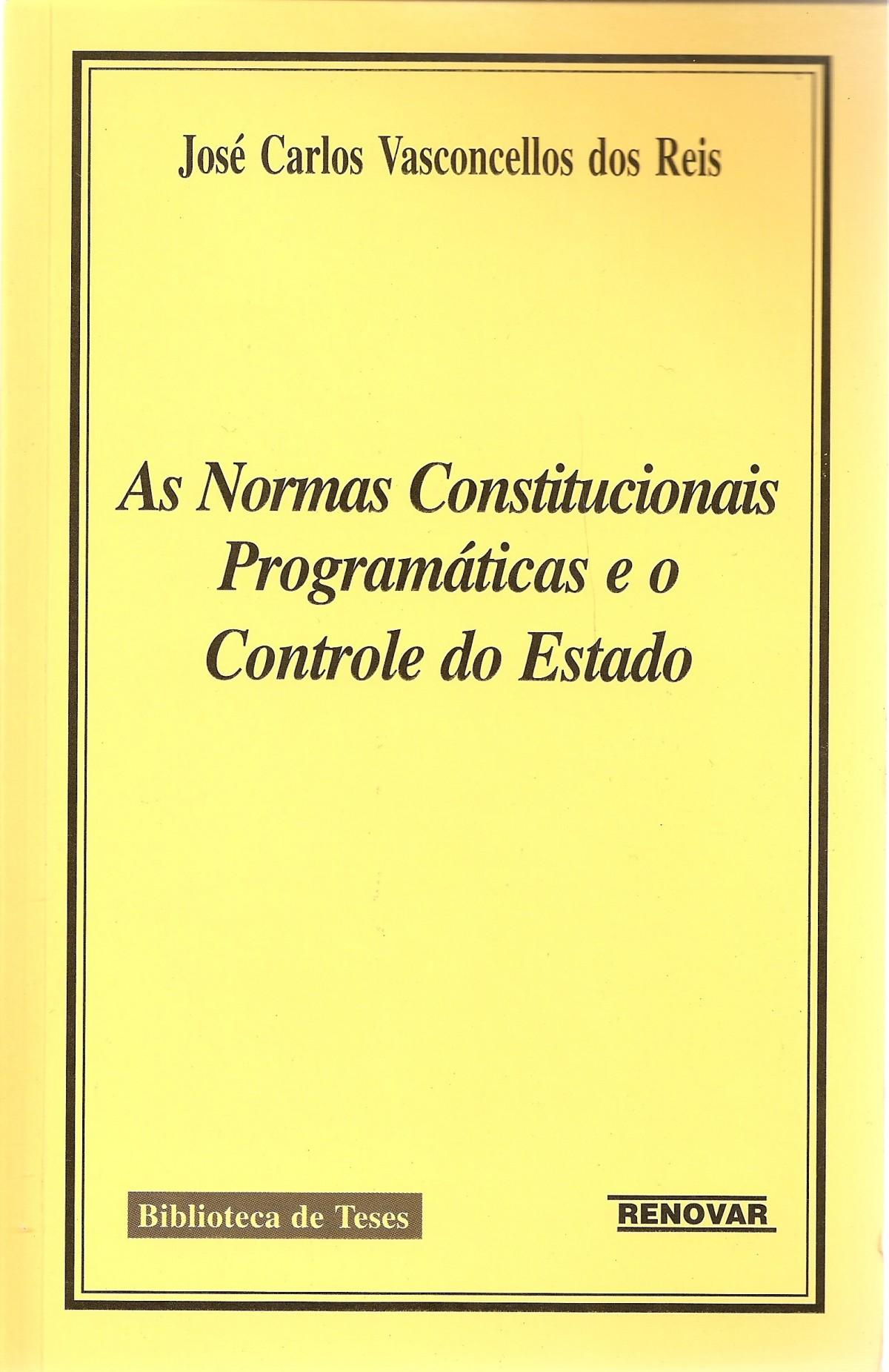 Foto 1 - As Normas Constitucionais Programáticas e o Controle do Estado