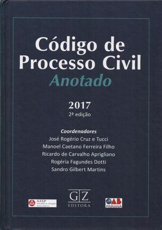 Foto 1 - Código de Processo Civil Anotado - 2ª Edição