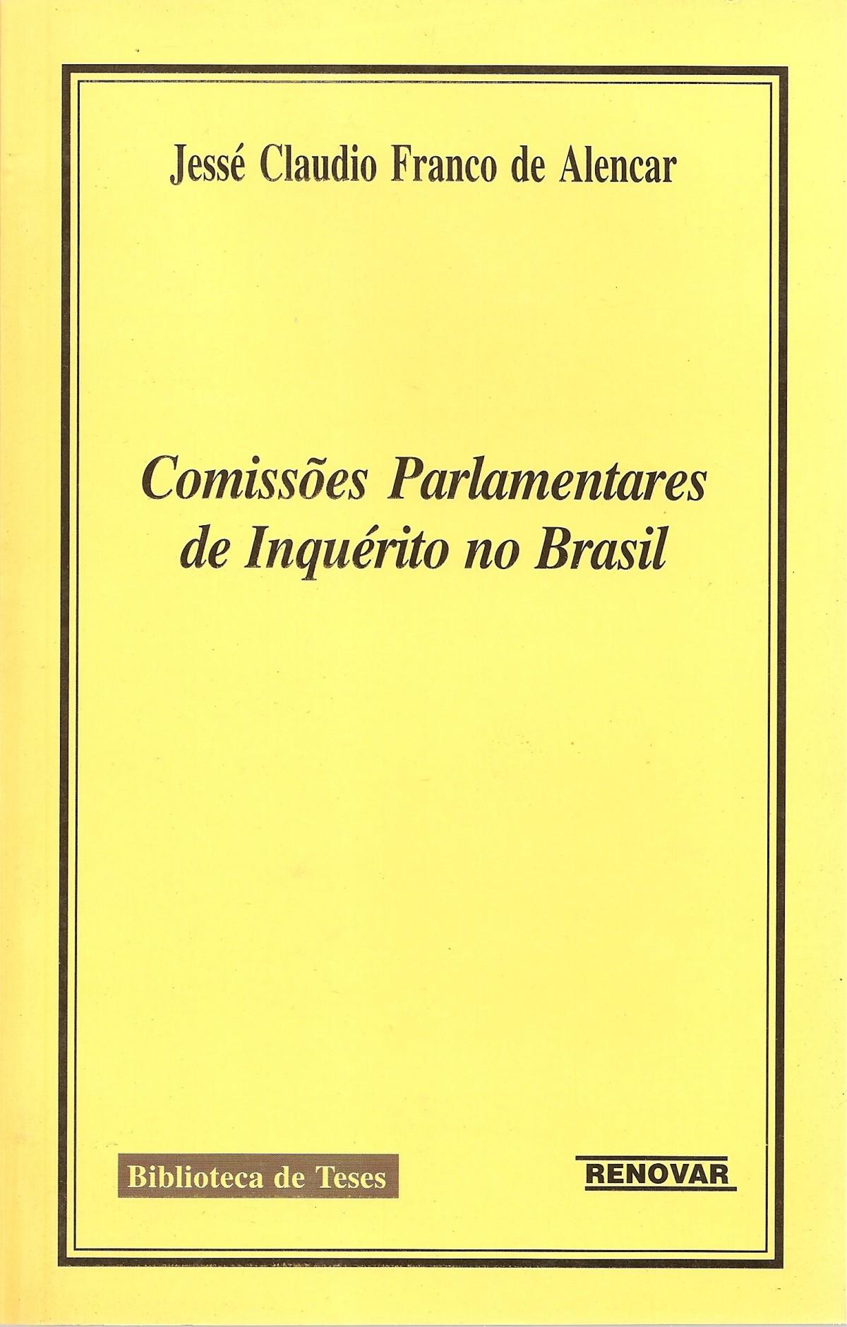 Foto 1 - Comissões Parlamentares de Inquérito no Brasil