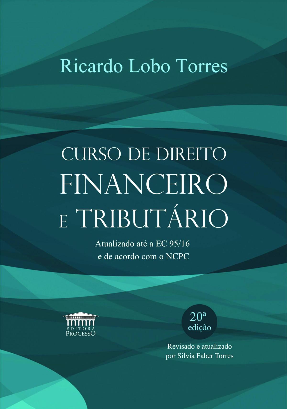 Foto 1 - Curso de Direito Financeiro e Tributário, 20 Ed.