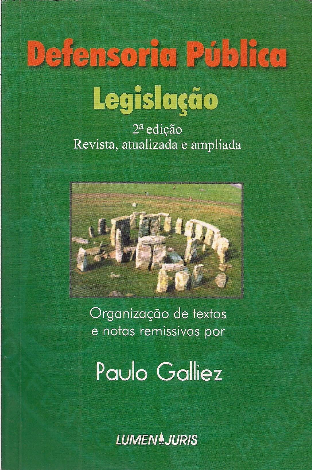 Foto 1 - Defensoria Pública - Legislação