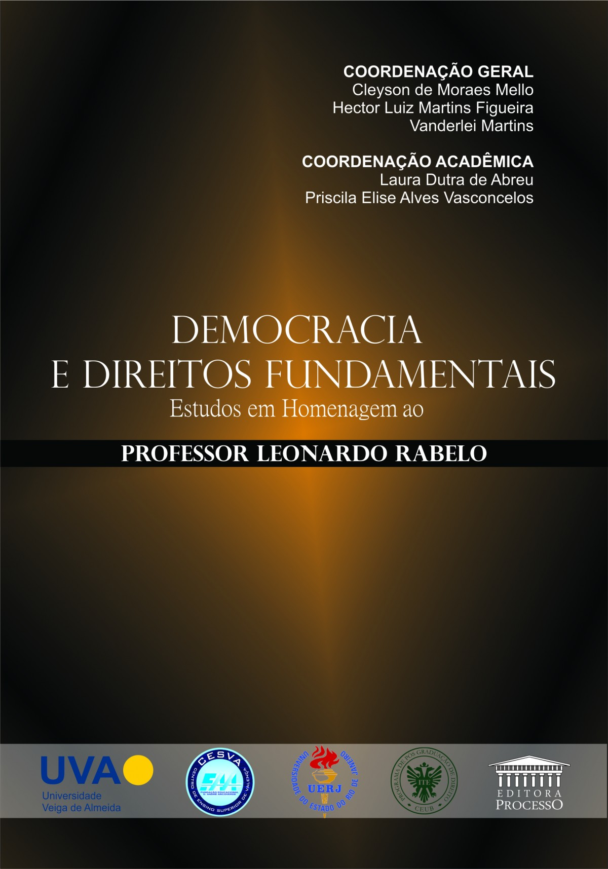 Foto 1 - Democracia e Direitos Fundamentais - Estudos em Homenagem ao Professor Leonardo Rabelo