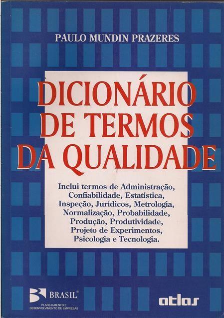 Foto 1 - Dicionário de Termos de Qualidade