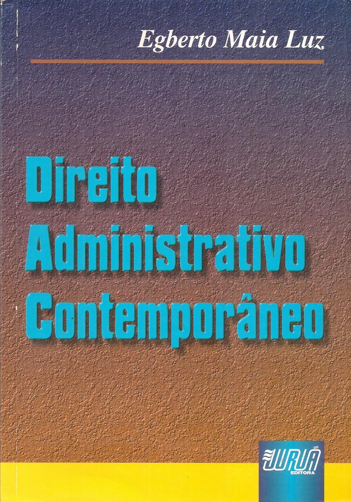 Foto 1 - Direito Administrativo Contemporâneo