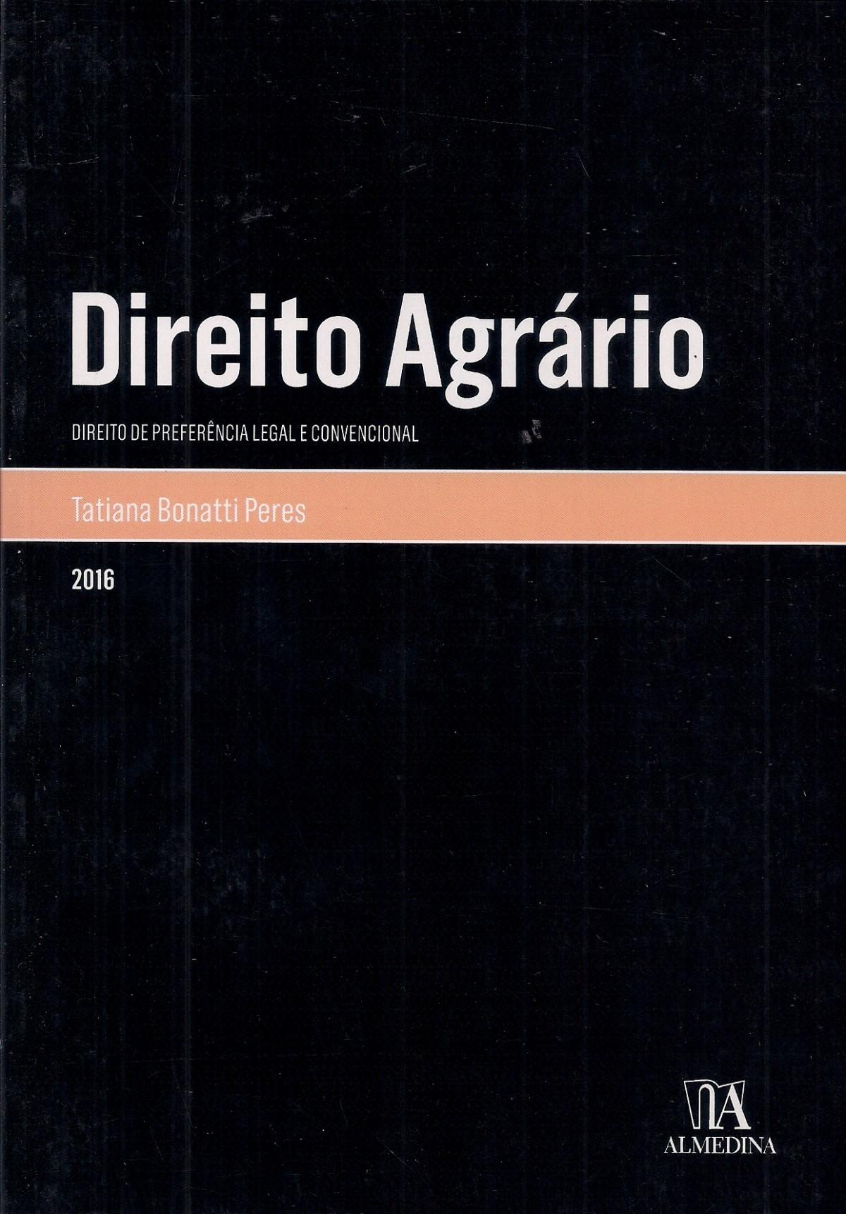 Foto 1 - Direito Agrário - Direito de preferência legal e convencional