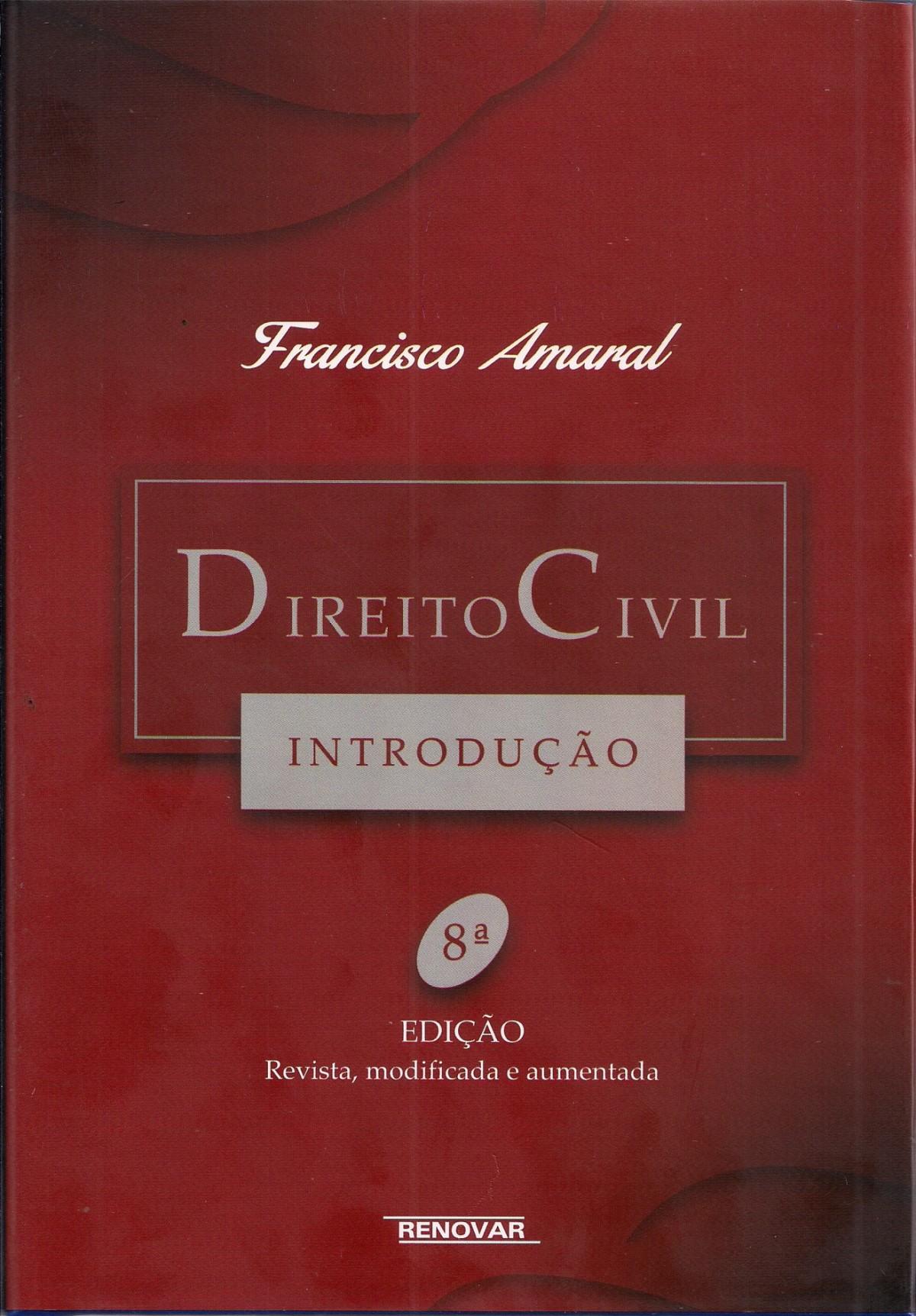 Foto 1 - Direito Civil Introdução 8ª edição