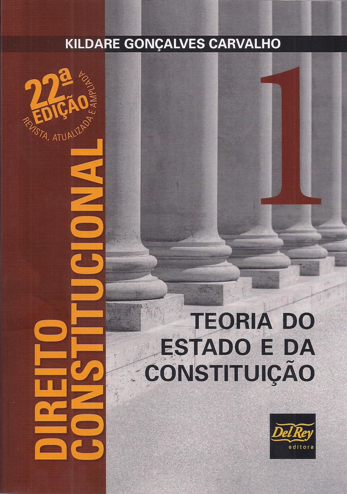 Foto 1 - Direito Constitucional: Teoria Do Estado E Da Constituição - Vol.1