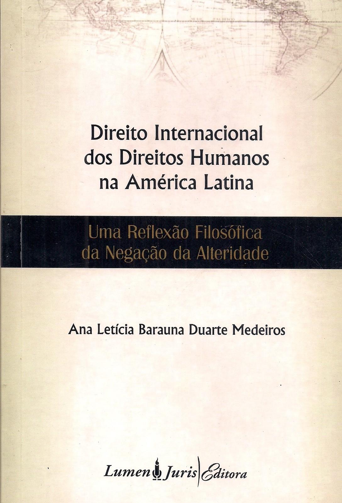 Foto 1 - Direito Internacional dos Direitos Humanos na América Latina