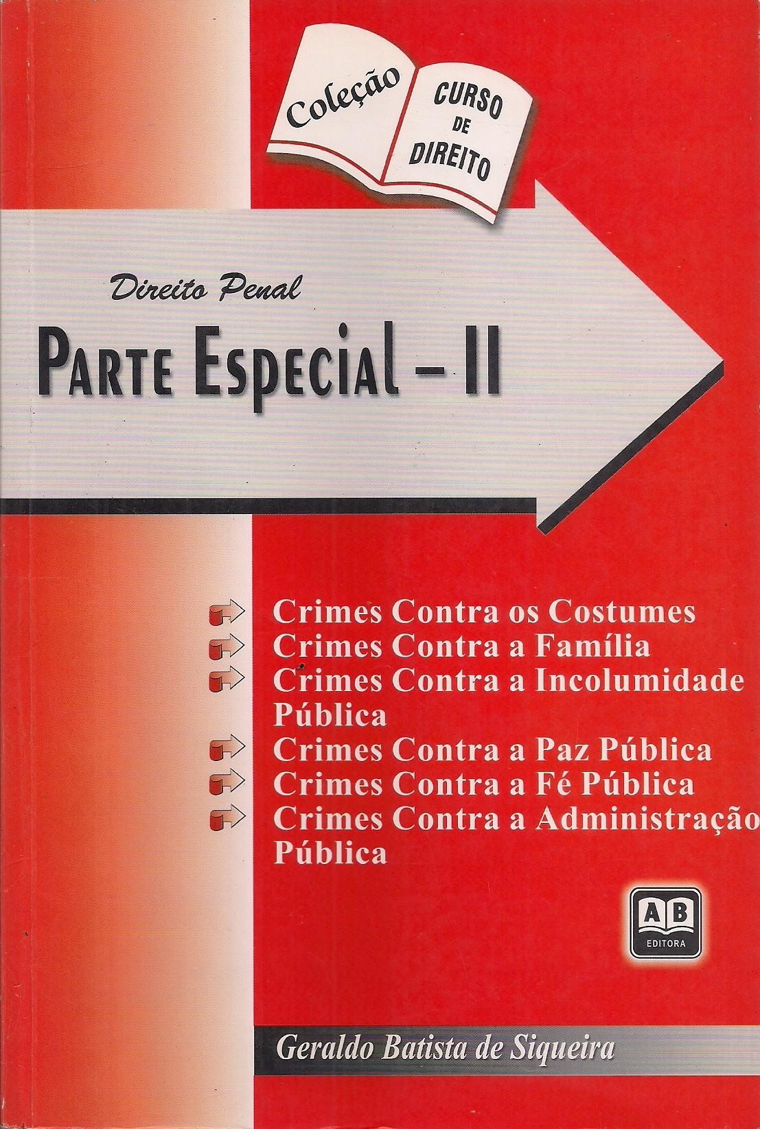 Foto 1 - Direito Penal - Parte especial 2