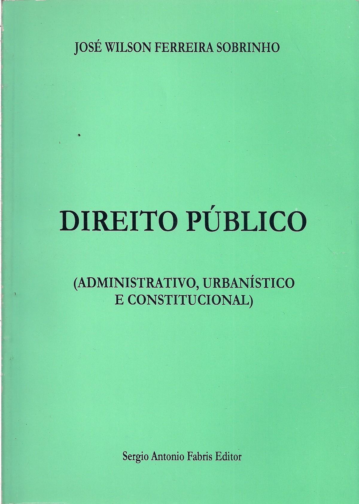 Foto 1 - Direito Público (Administrativo, Urbanístico, Constitucional)