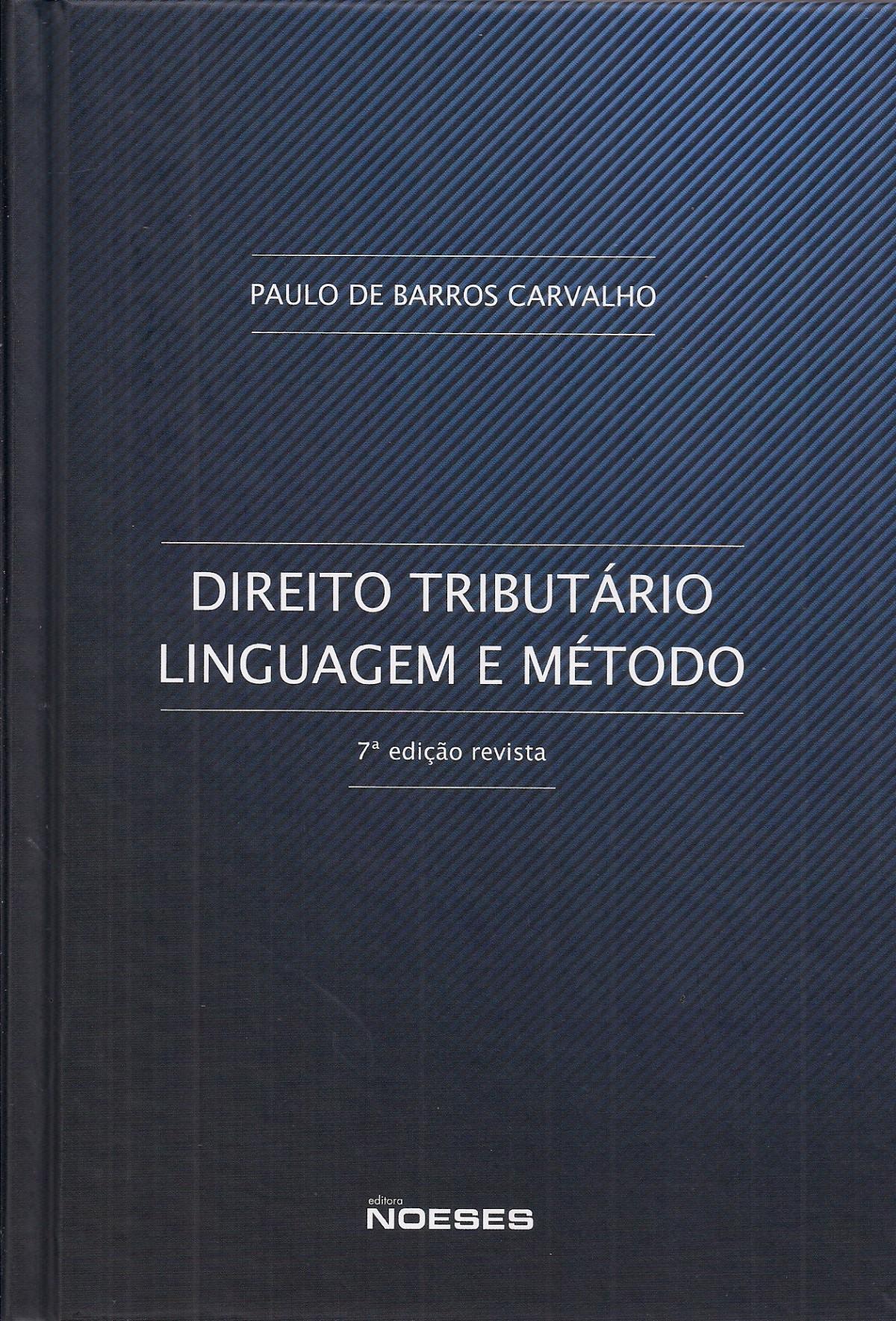 Foto 1 - Direito Tributário Linguagem e Método