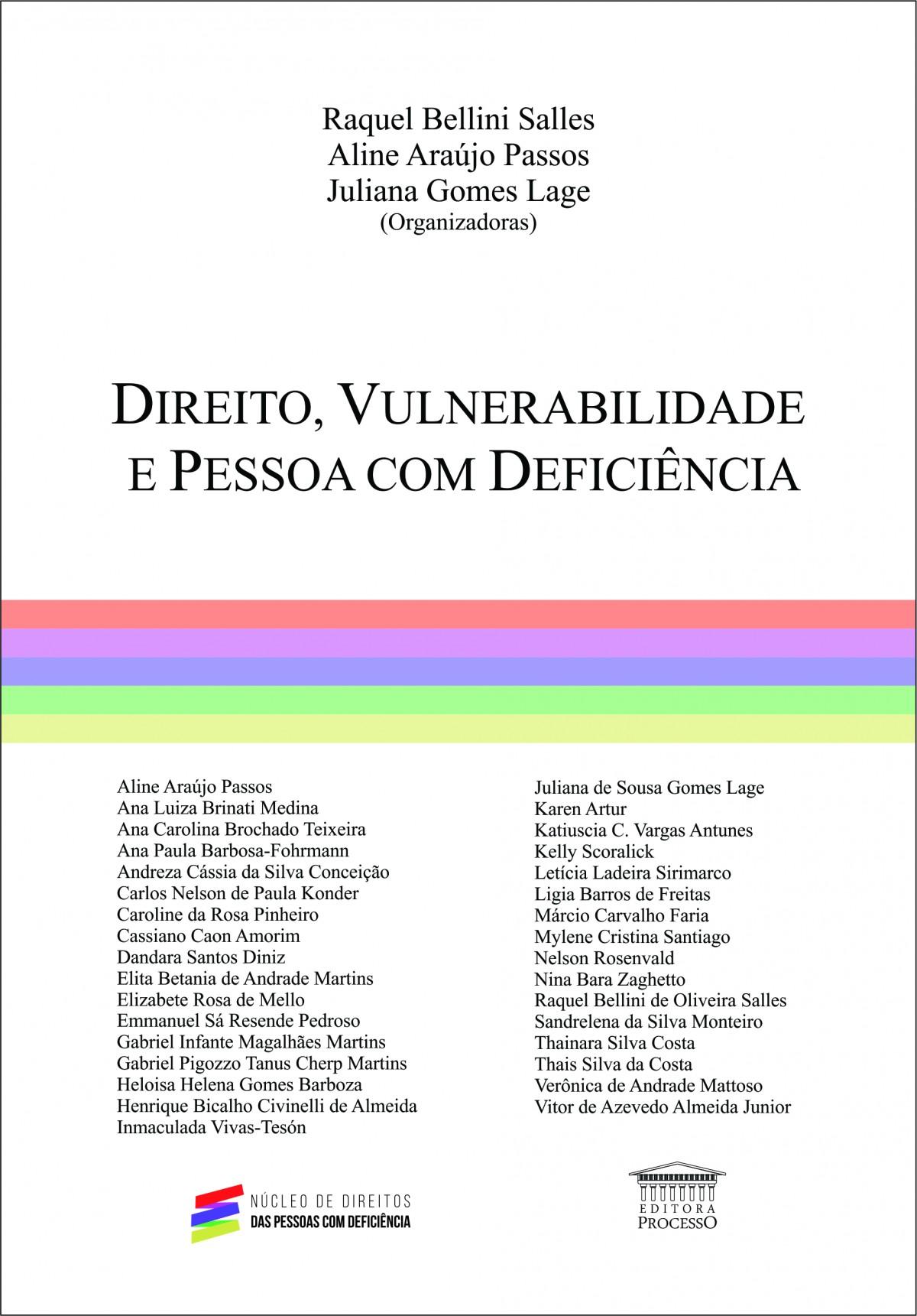 Foto 1 - Direito, Vulnerabilidade e Pessoa com Deficiência