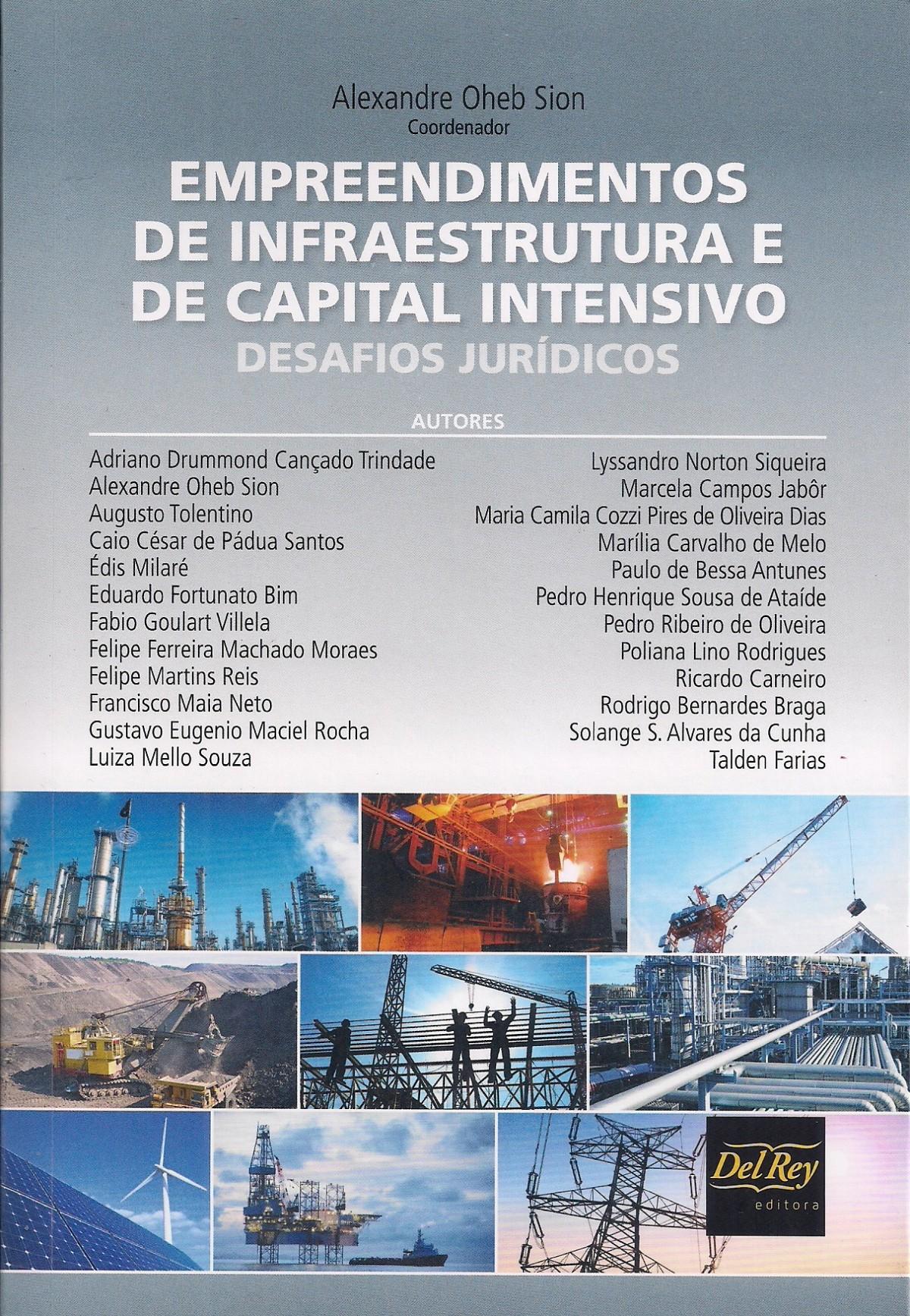Foto 1 - Empreendimentos de Infraestrutura e de Capital Intensivo - Desafios Jurídicos