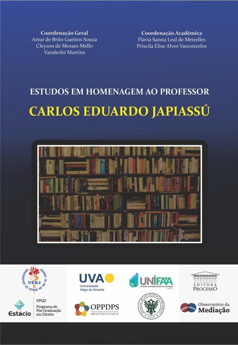 Foto 1 - Estudos em Homenagem ao Professor Carlos Eduardo Japiassú