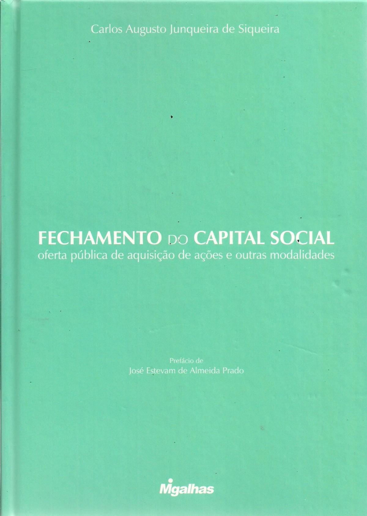 Foto 1 - Fechamento do Capital Social