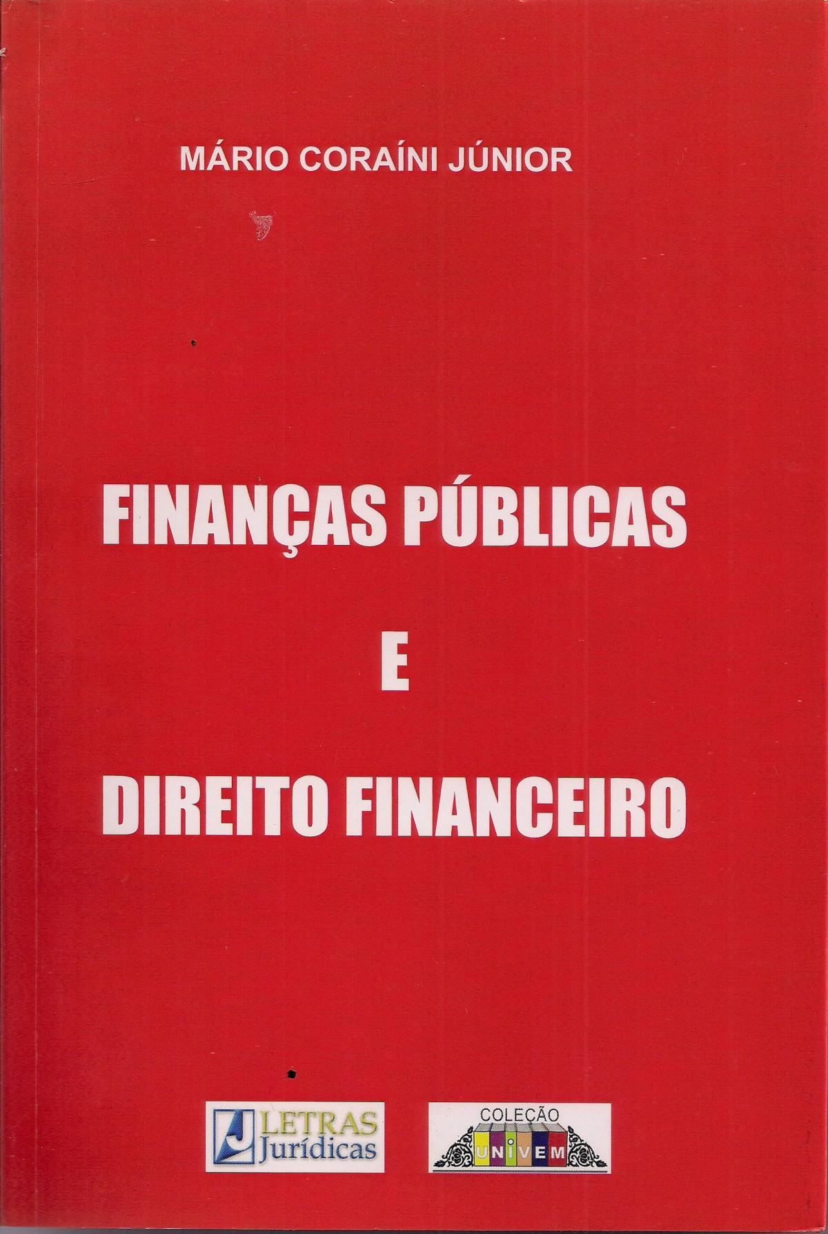 Foto 1 - Finanças Públicas e Direito Financeiro