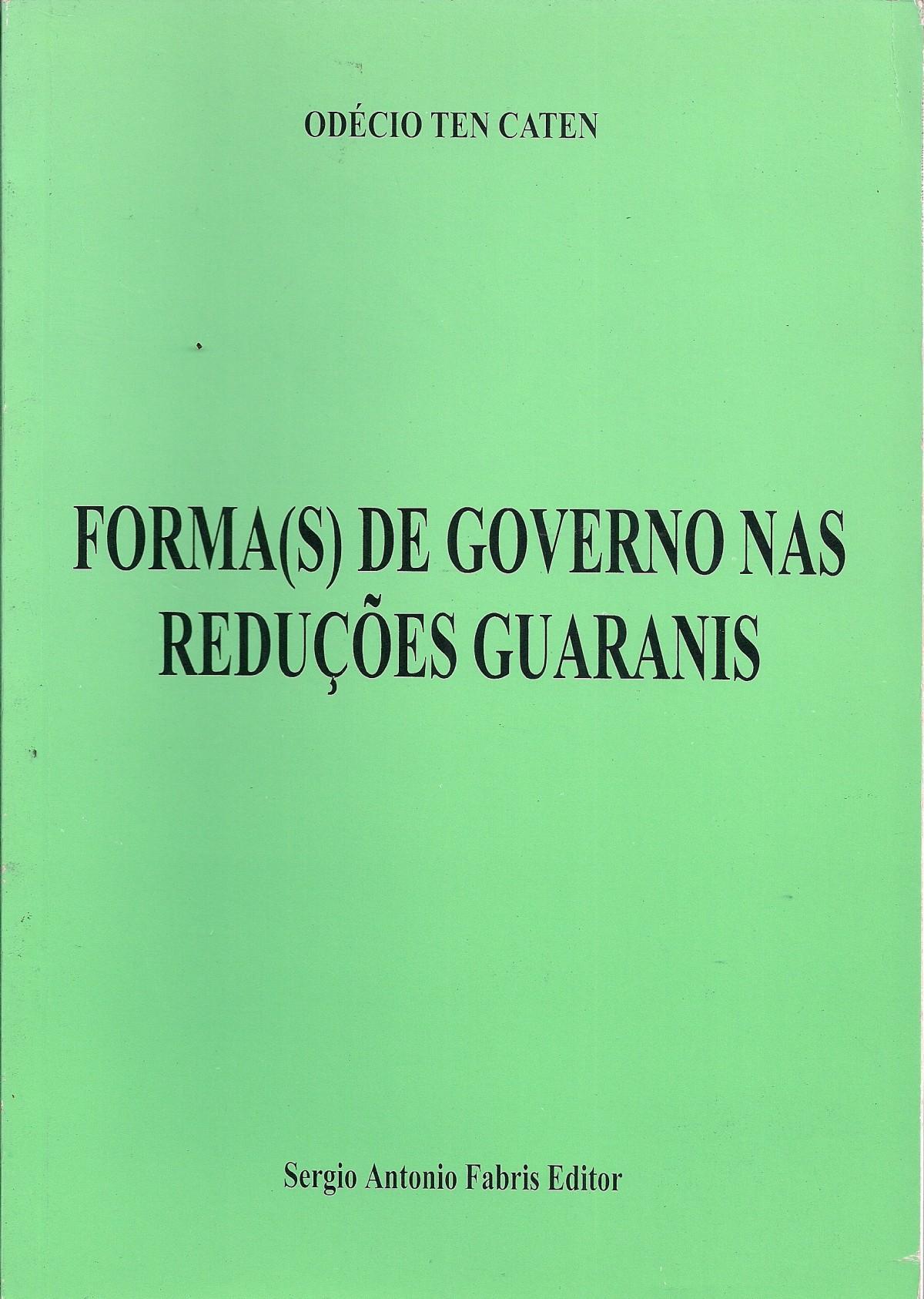 Foto 1 - Forma(S) de Governo nas Reduções Guaranis
