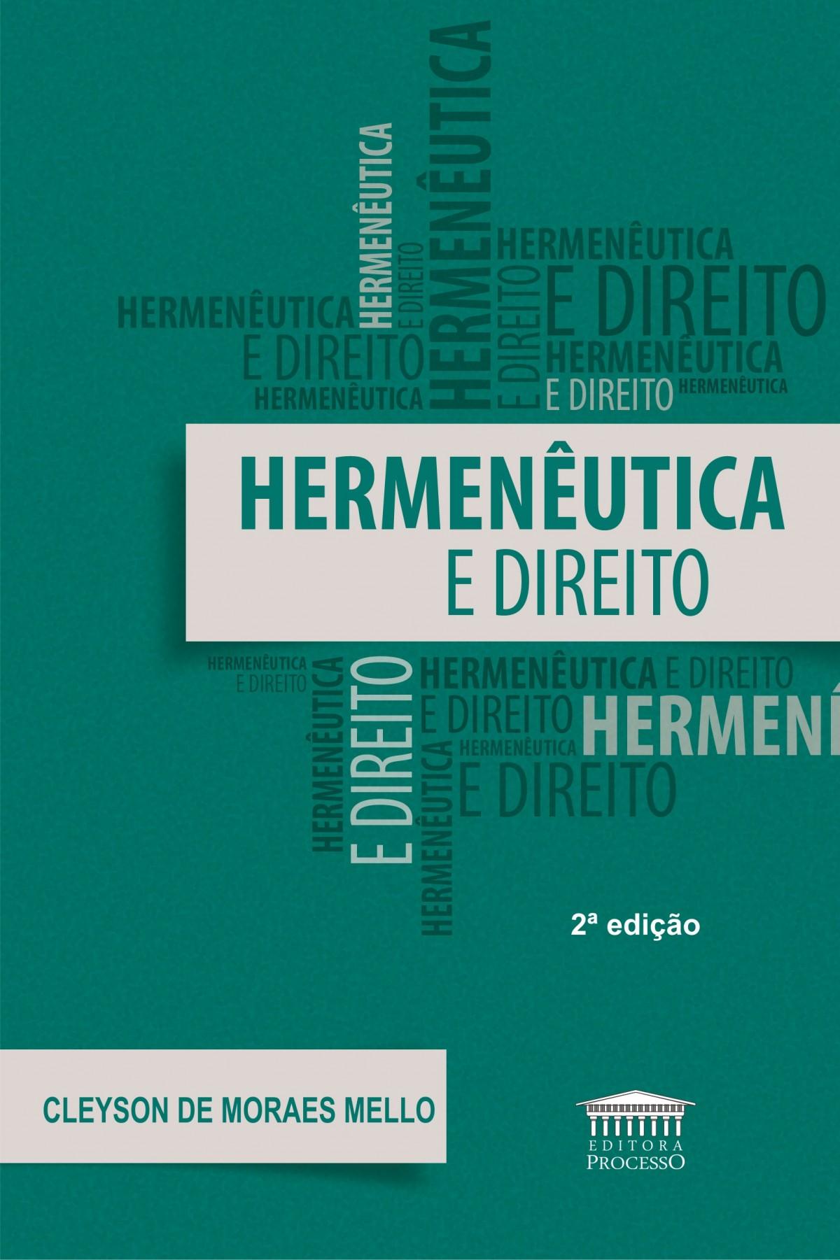 Foto 1 - Hermenêutica e Direito