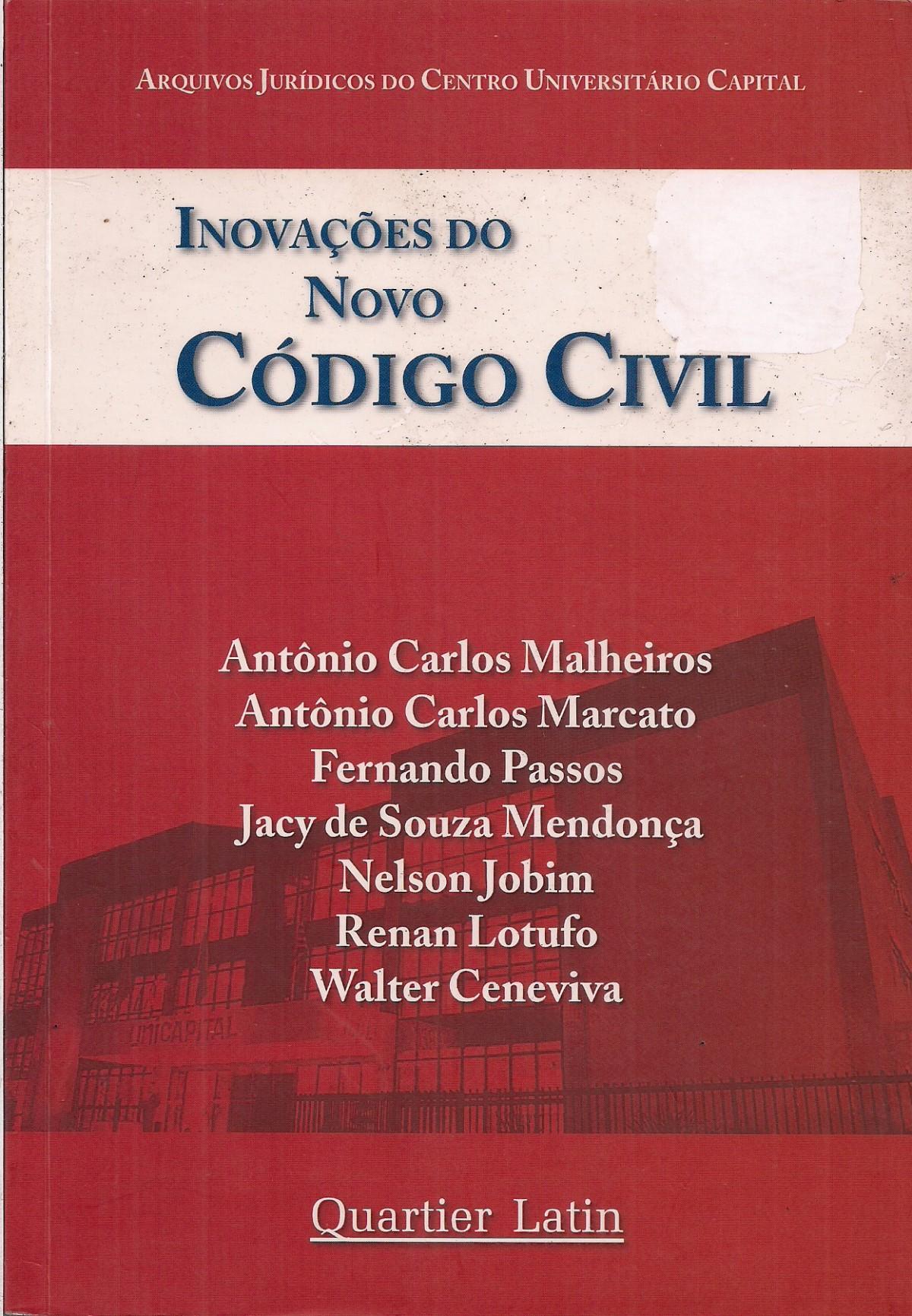 Foto 1 - Inovações do Novo Código Civil