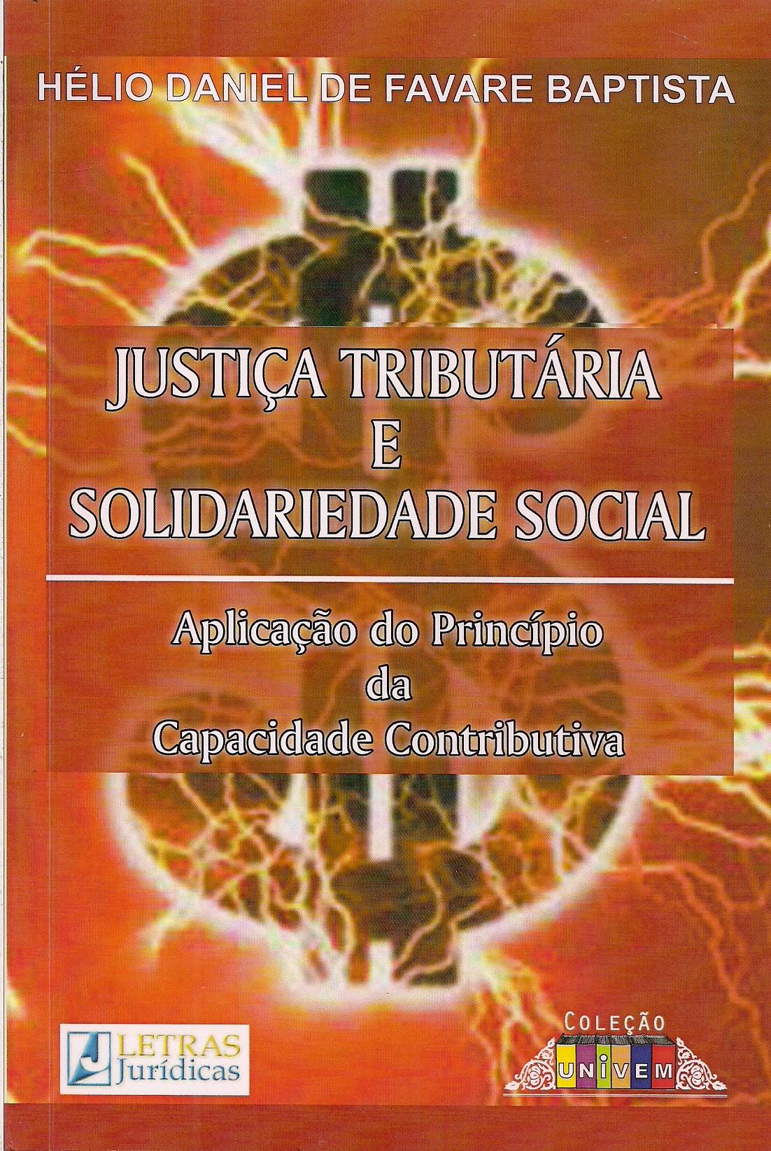 Foto 1 - Justiça Tributária e Solidariedade Social