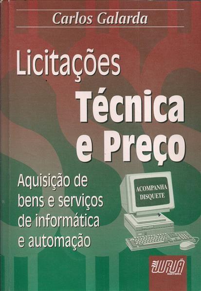 Foto 1 - Licitações Técnica e Preço