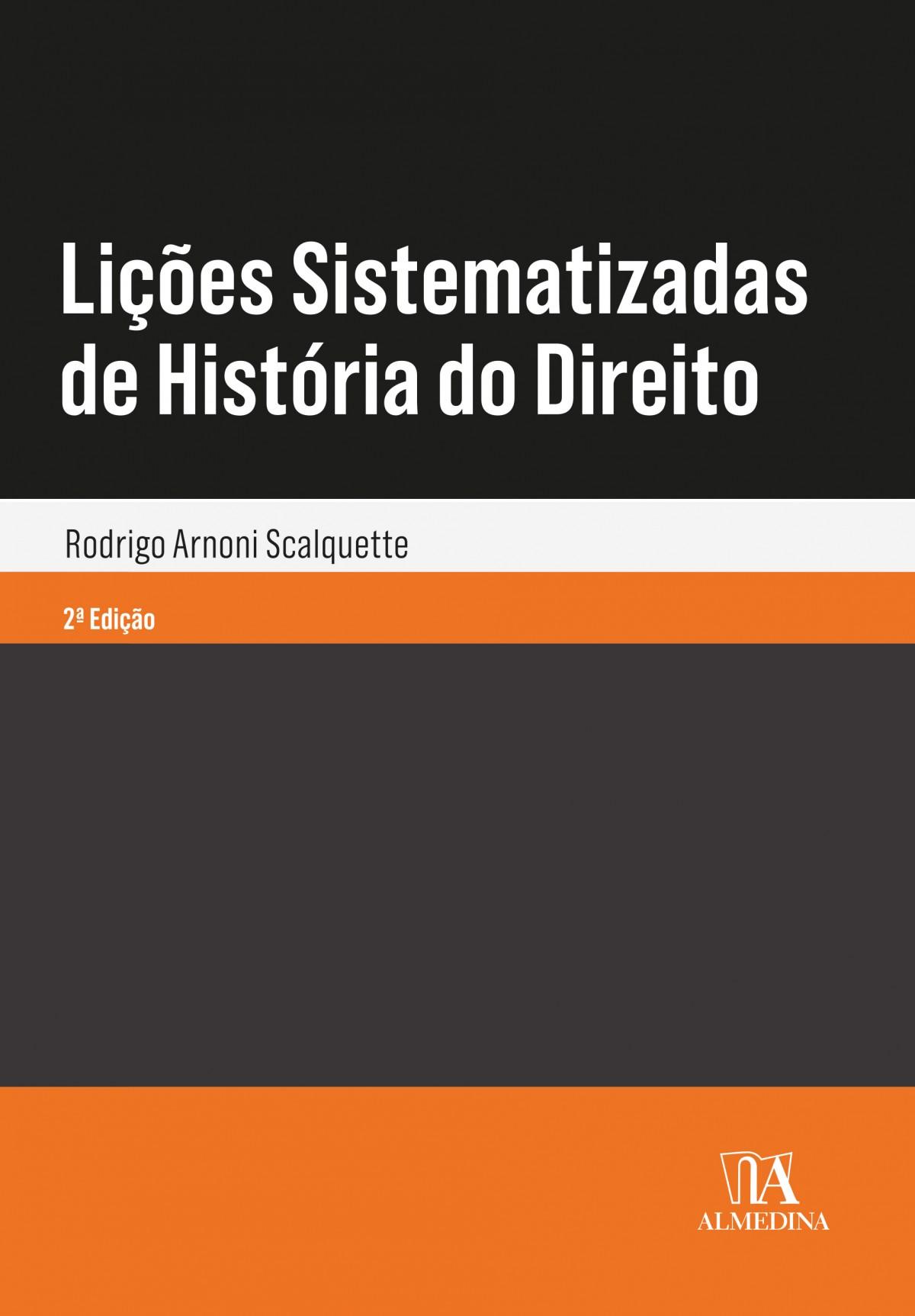 Foto 1 - Lições Sistematizadas de História do Direito