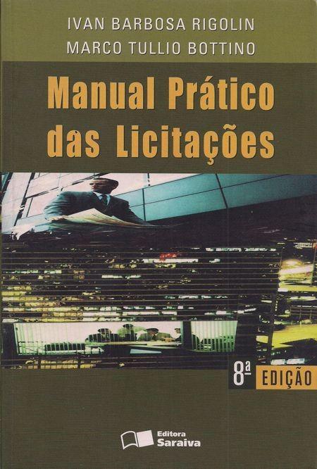 Foto 1 - Manual Prático das Licitações