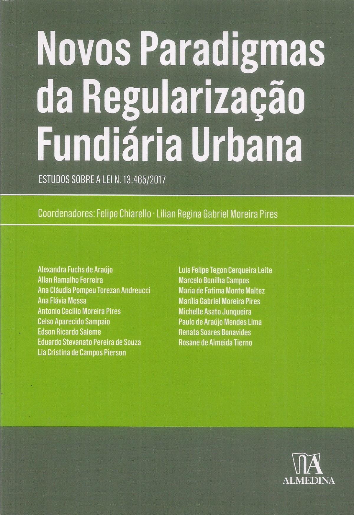 Foto 1 - Novos Paradigmas da Regularização Fundiária Urbana