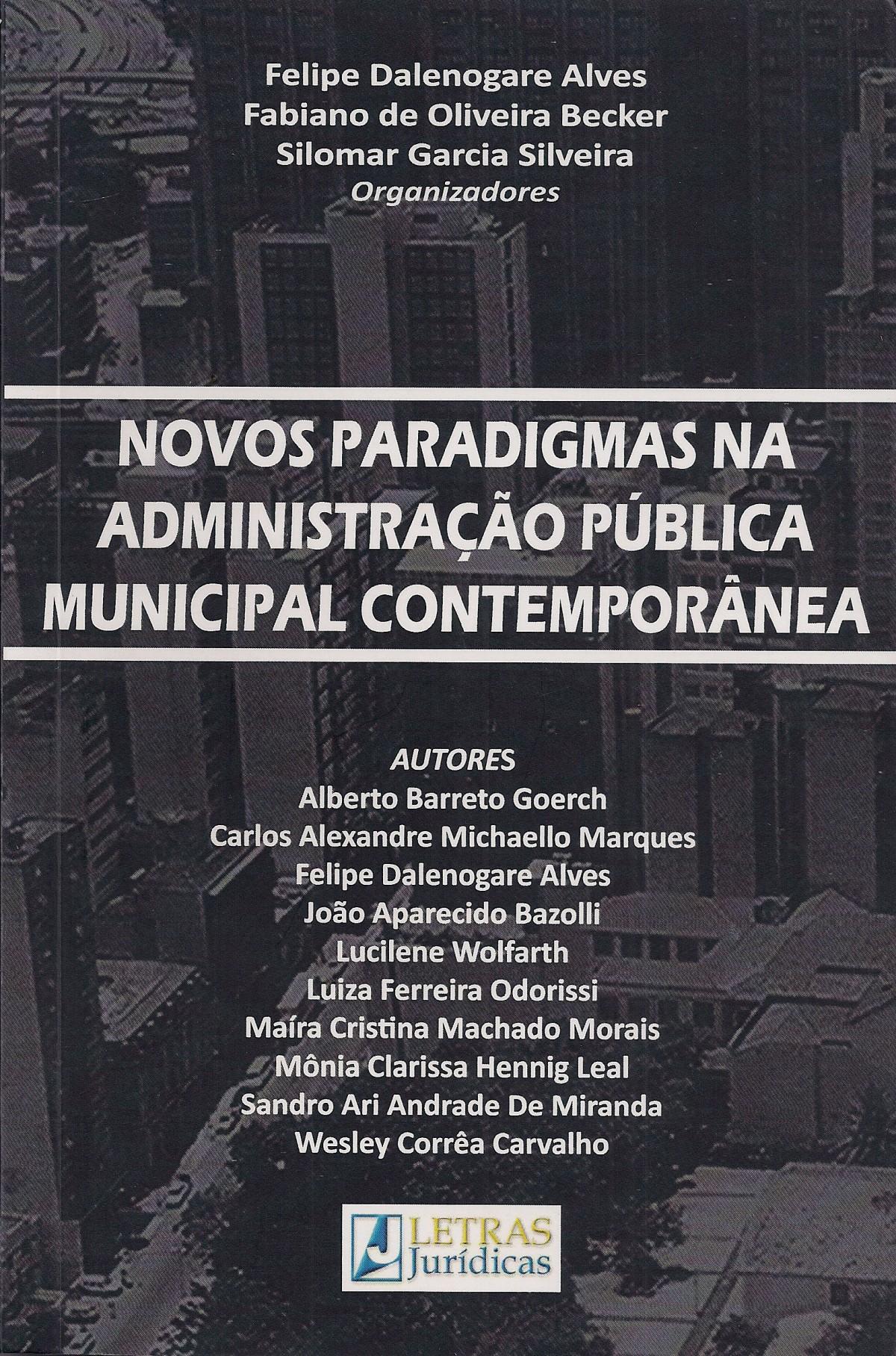 Foto 1 - Novos Paradigmas na Administração Pública Municipal Contemporânea
