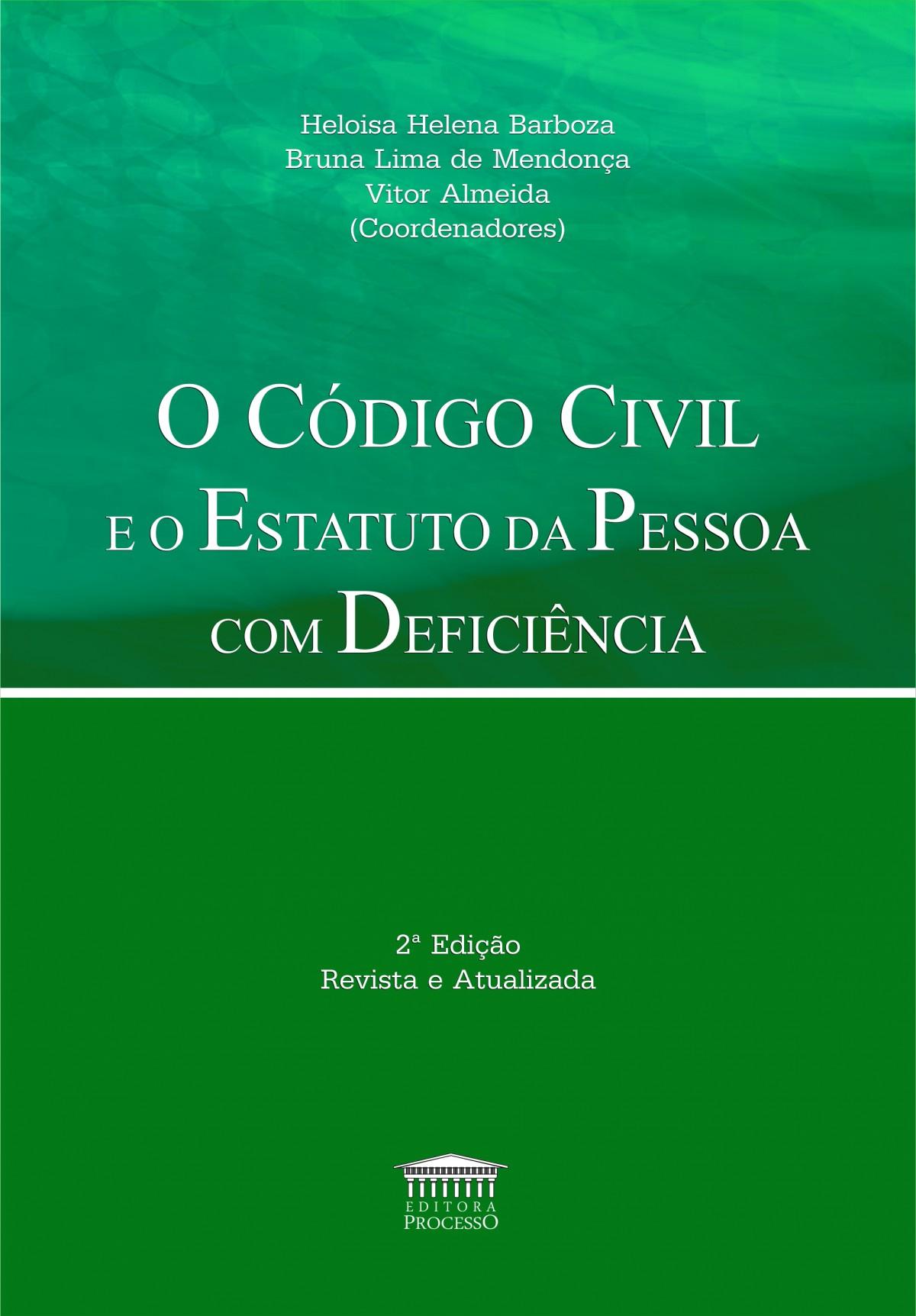 Foto 1 - O Código Civil e o Estatuto da Pessoa com Deficiência - 2ª Edição