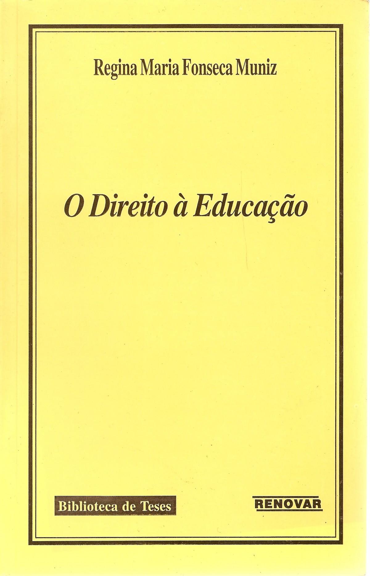 Foto 1 - O Direito à Educação