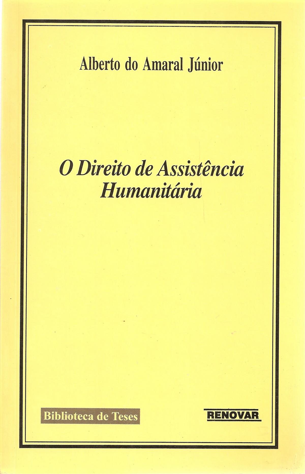 Foto 1 - O Direito de Assistência Humanitária