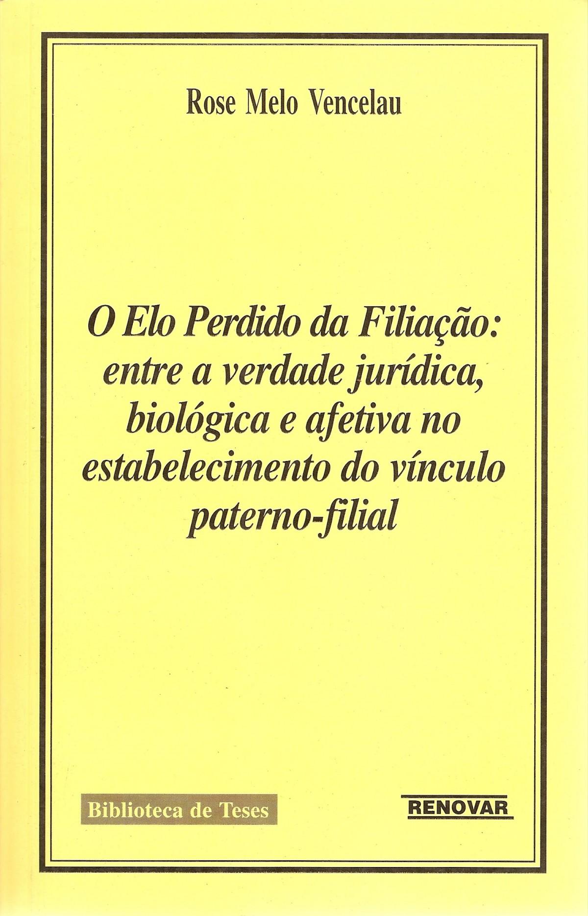 Foto 1 - O Elo Perdido da Filiação: Entre a Verdade Jurídica, Biológica Afetiva no Estabelecimento do Vínculo