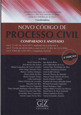 Foto 1 - Novo Código de Processo Civil Comparado e Anotado