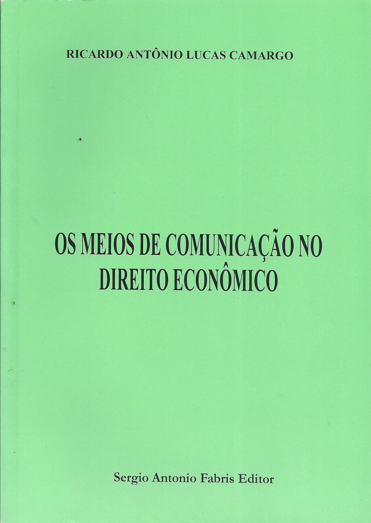 Foto 1 - Os Meios de Comunicação no Direito Econômico