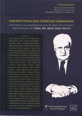 Foto 1 - Perspectivas das Ciências Criminais