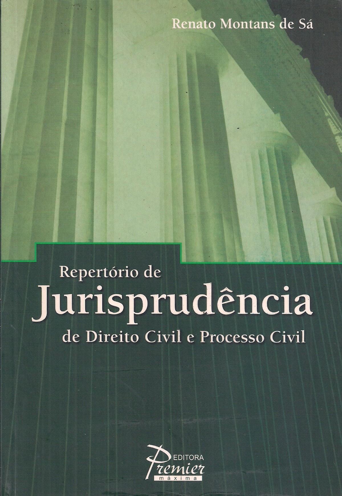 Foto 1 - Repertório de Jurisprudência de Direito Civil e Processo Civil